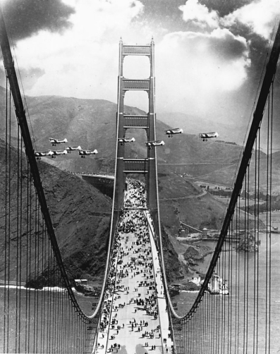 Happy Anniversary Golden Gate Bridge