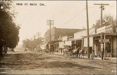 History of Davis California