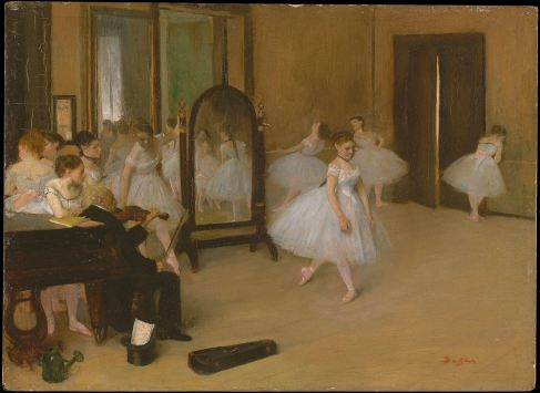 Ballarenas by Degas