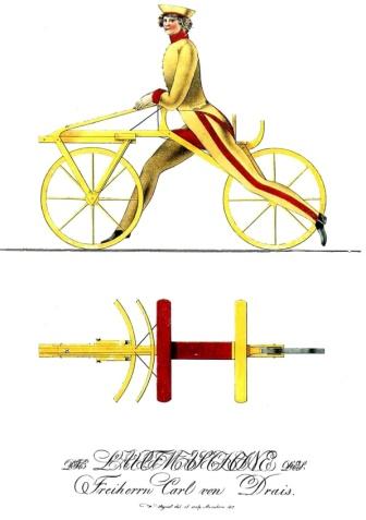Draisine bike 1817