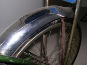 Rusted Rear Fender