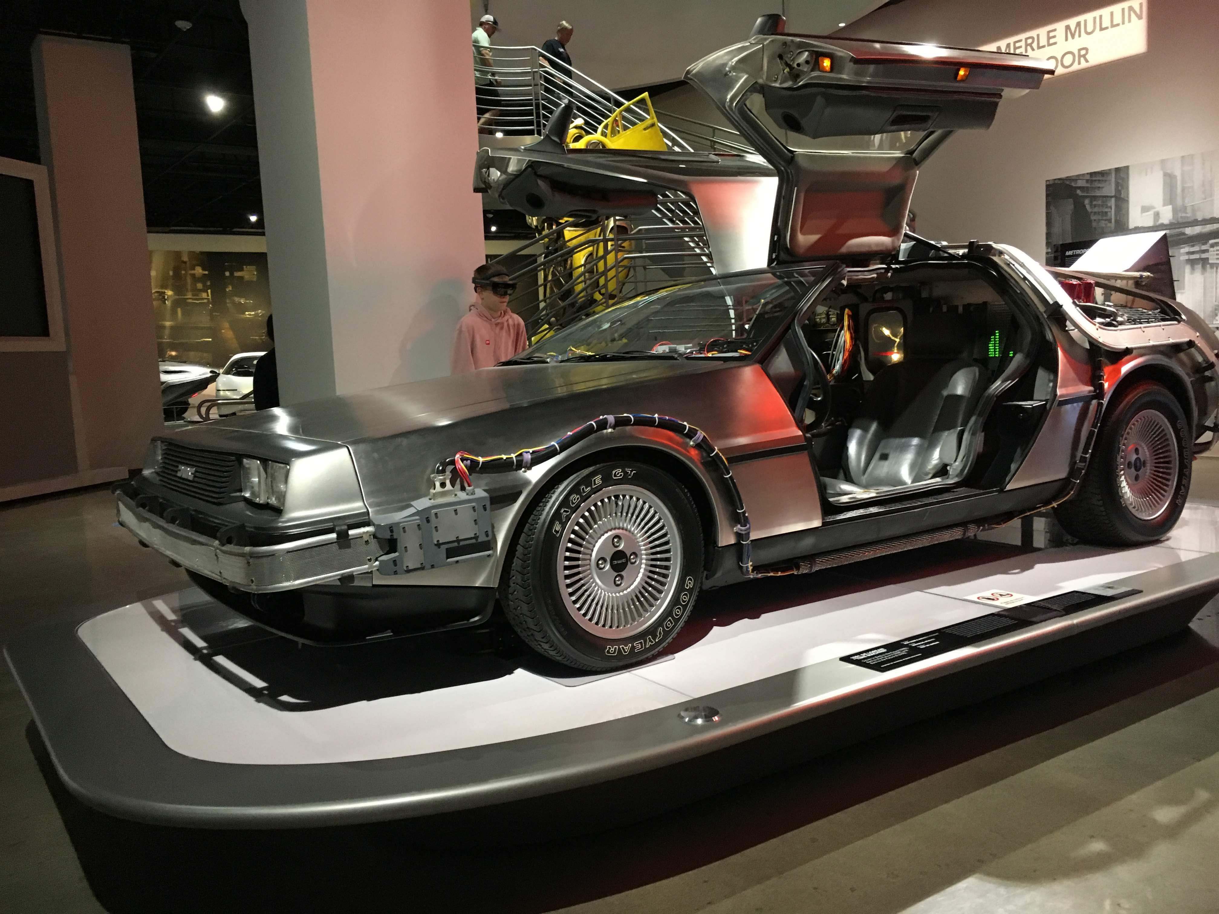 DeLorean At Pedersen Museum LA