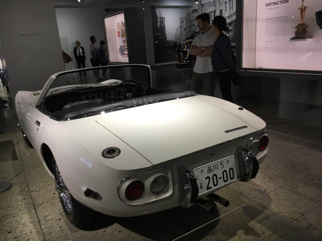 1967 Toyota 2000 GT at Petersen Automotive Museum